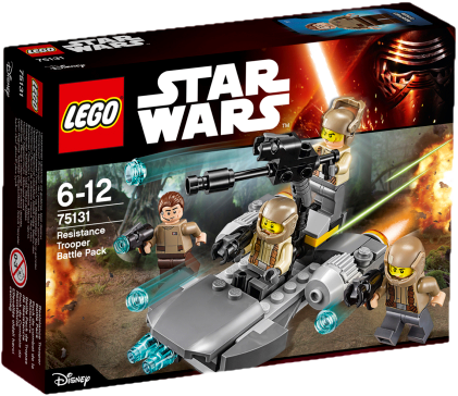LEGO® Star Wars 75131 Confidential Battle pack Episode 7 Heroes