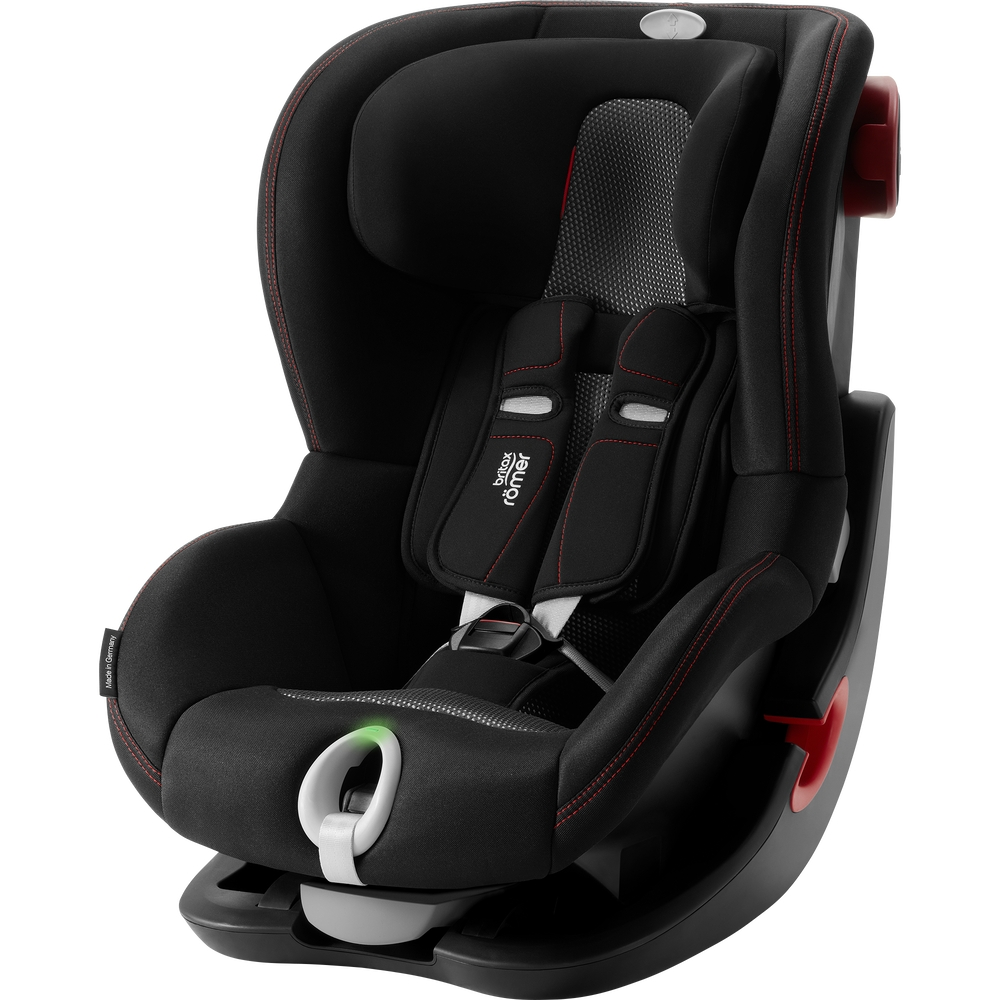 BRITAX RÖMER Autosedačka King II LS Black (9-18 kg) Cool Flow - Black