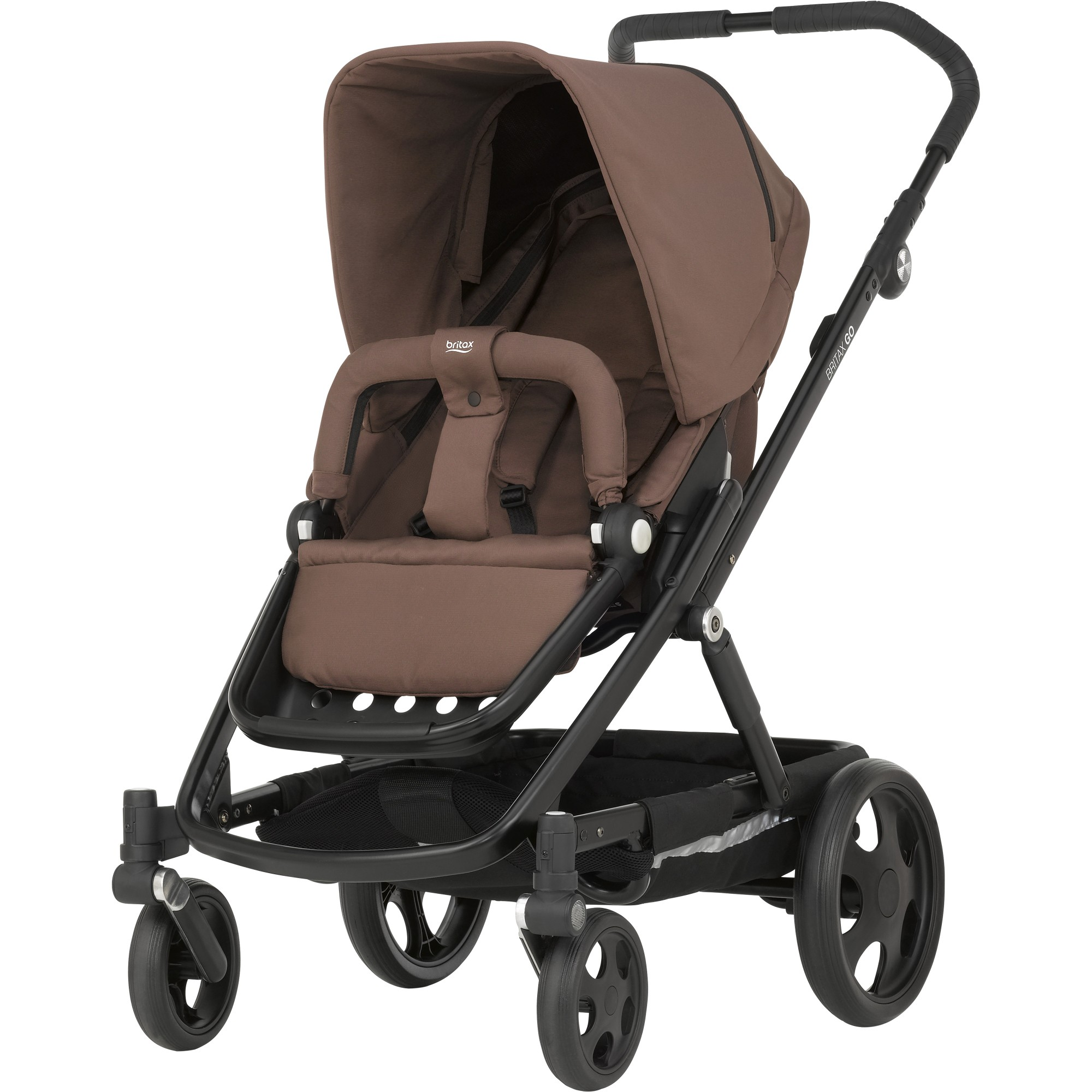Britax Kombinovaný Go Wood brown 2016