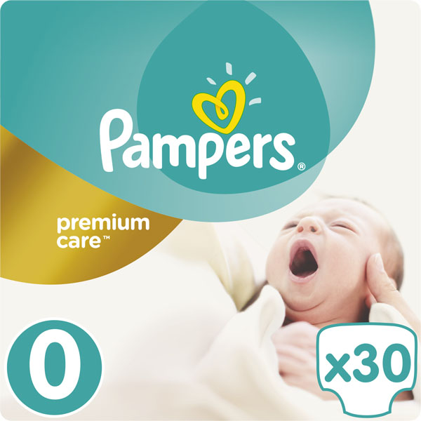 PAMPERS Premium Care 0 NEWBORN plienky 30ks