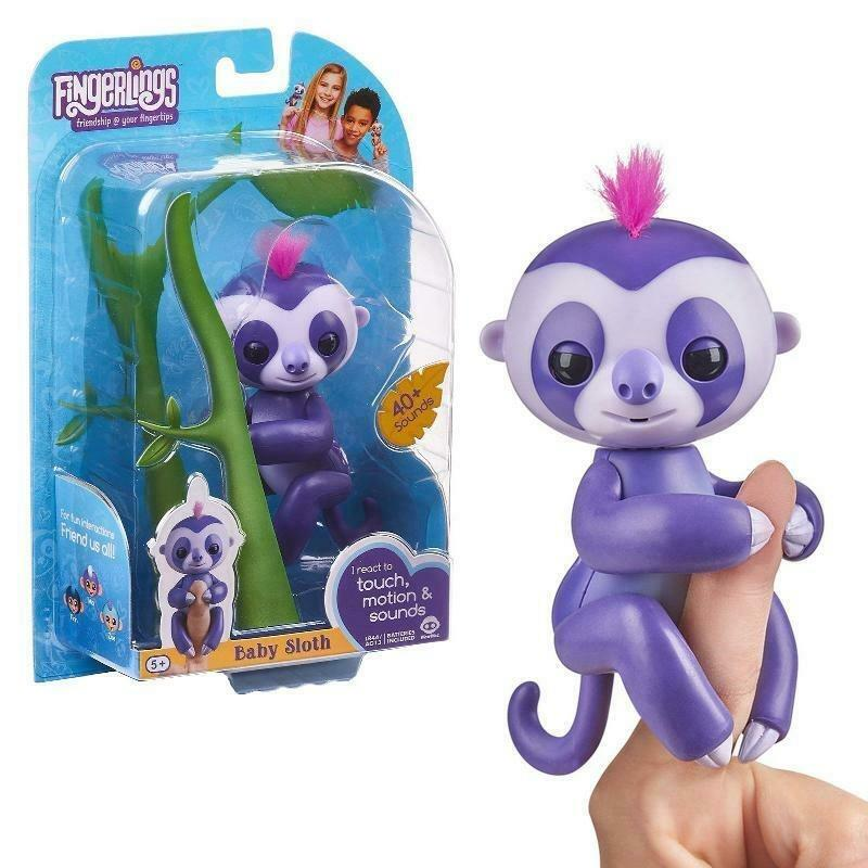 FINGERLINGS Fingerlings Baby Lenochod Marge