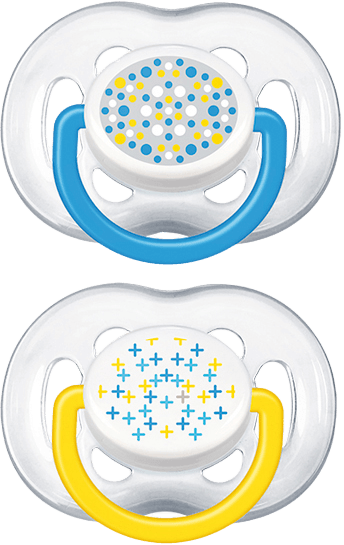 Philips AVENT Šidítko Sensitive Fantazie 6-18 m chlapec 2 ks