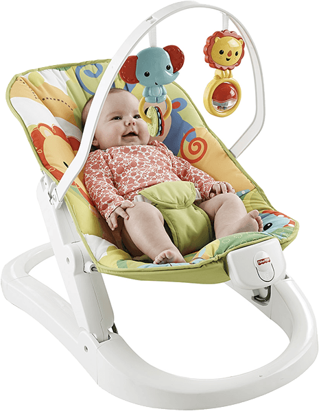 FISHER-PRICE Skladacie sedadlo Rainforest