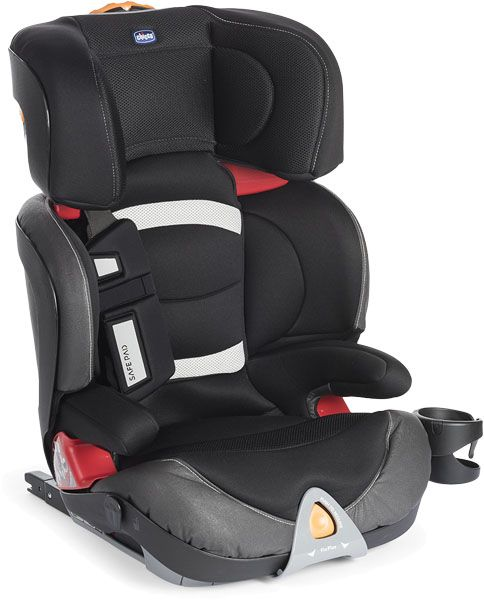 CHICCO Autosedačka Oasys 2-3 FixPlus Evo - Black Night (15-36 kg) - 2017