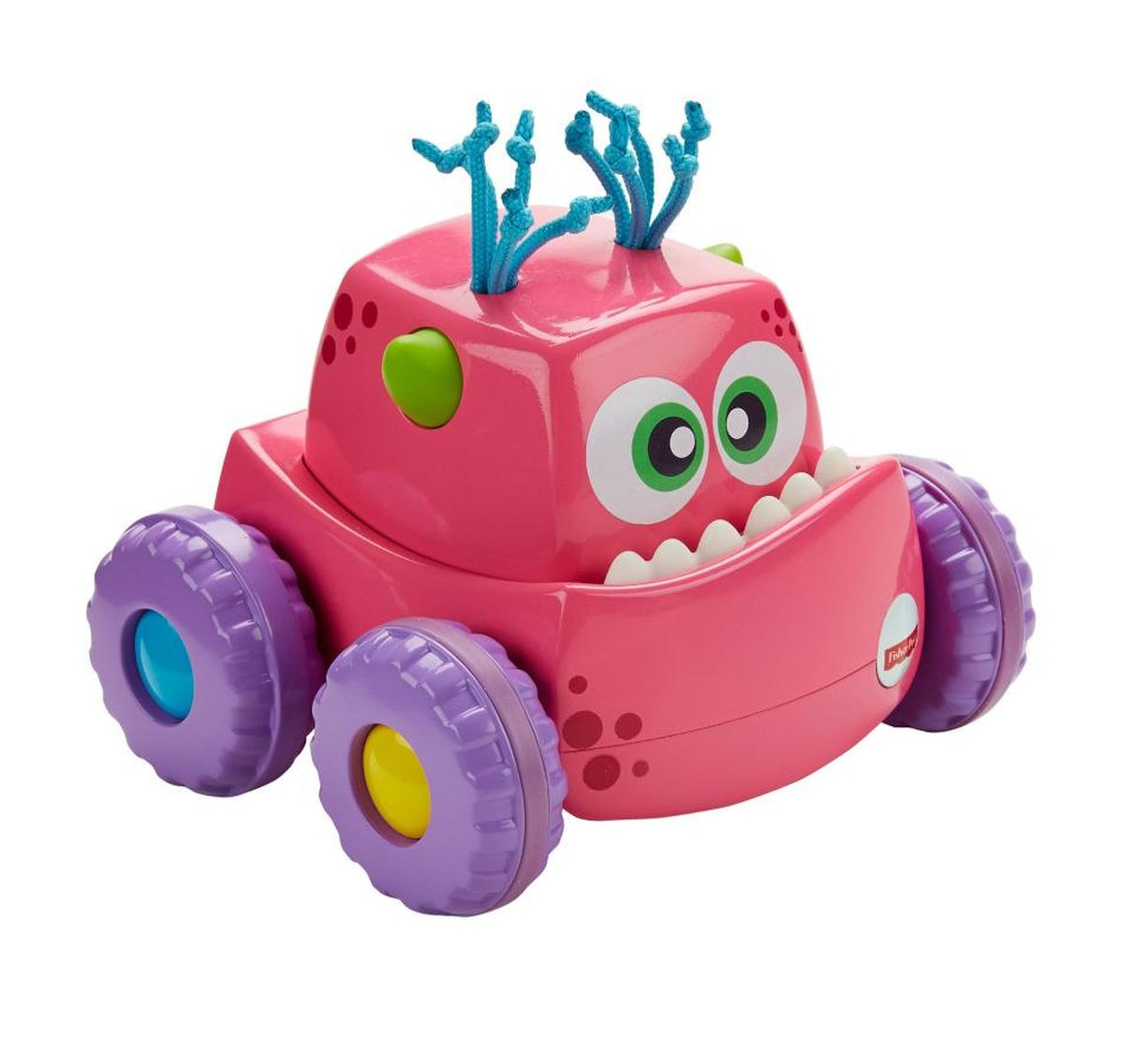 FISHER-PRICE Hračka autíčko Press ´N Go Monster Truck Růžová