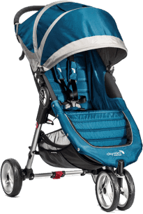 Baby Jogger CITY MINI 2016 4 kola Teal/Gray