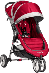 BABY JOGGER Kočík City Mini 2016 - Crimson / Gray