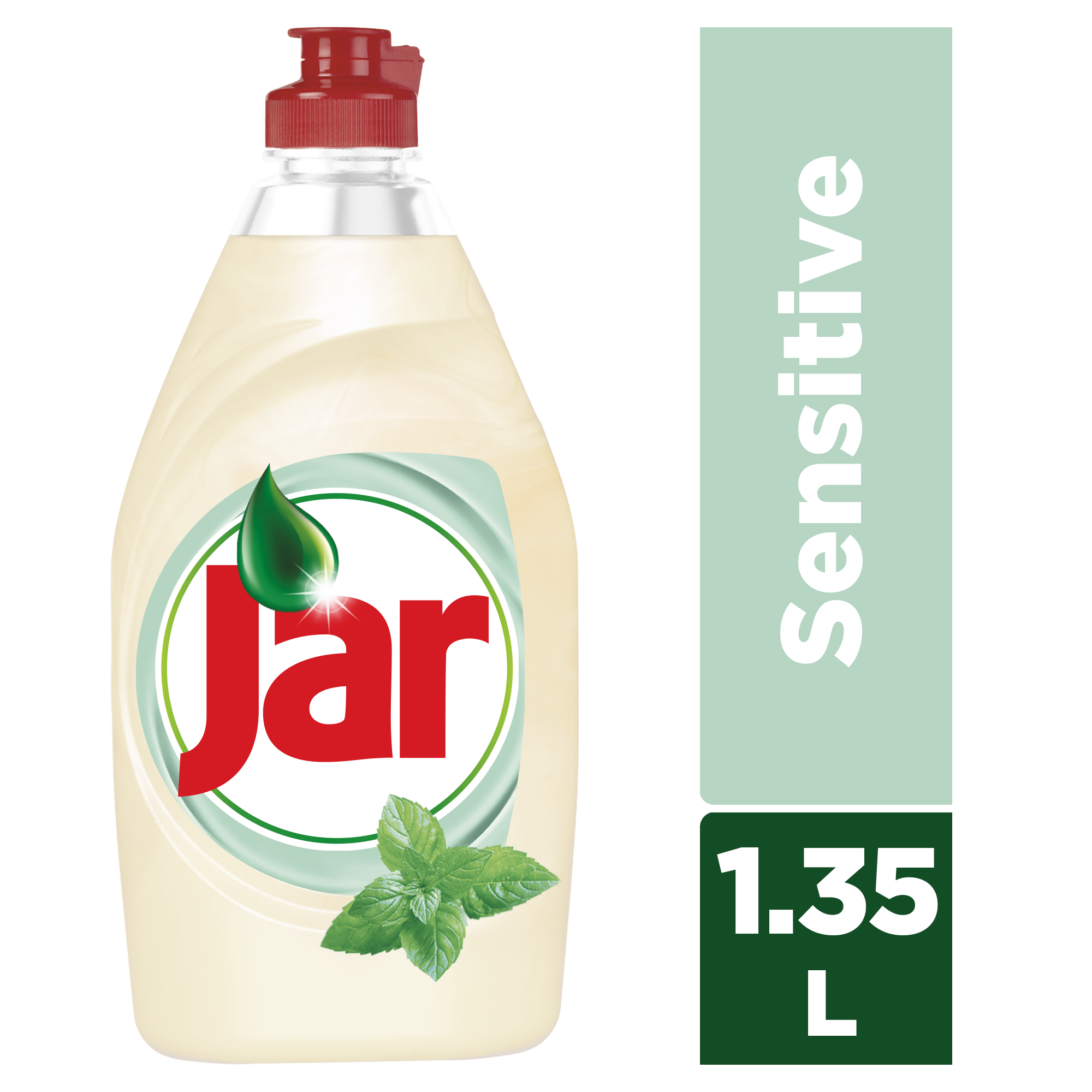 JAR Sensitive Tea Tree & Mint 1350 ml - mycí prostředek