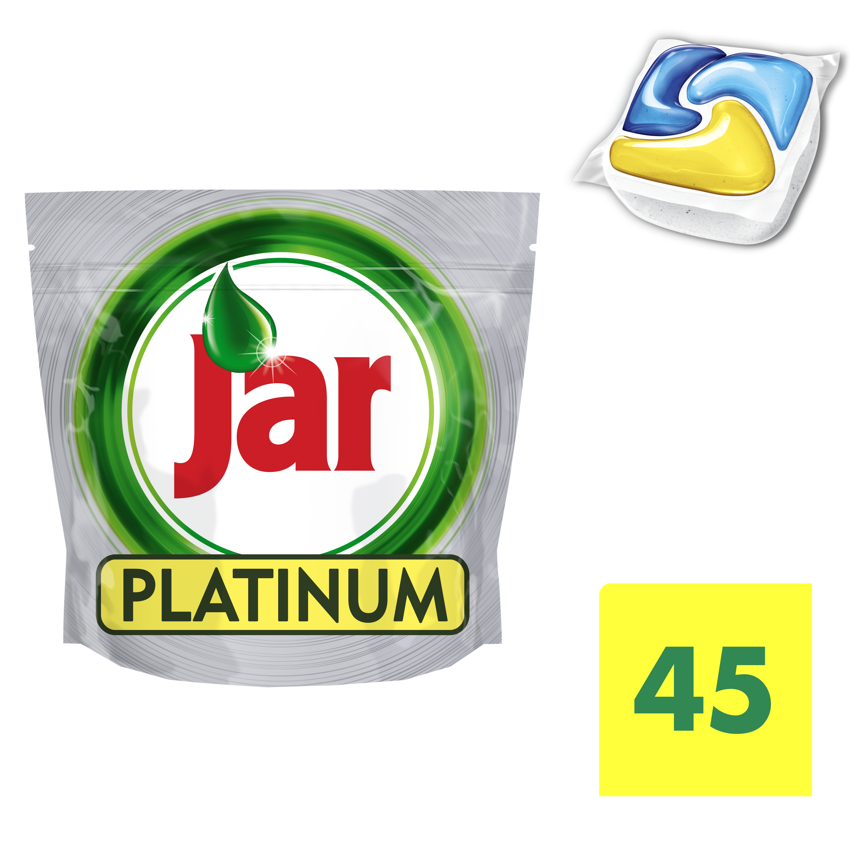 JAR Platinum Yellow 45ks - kapsle do myčky