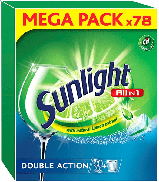 SUNLIGHT All in One Regular 78ks – tablety do myčky