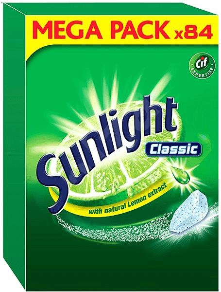 SUNLIGHT Classic Regular 84ks – tablety do myčky
