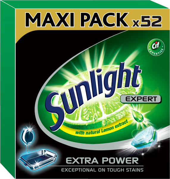 SUNLIGHT All in One Extra Power 52ks – tablety do myčky