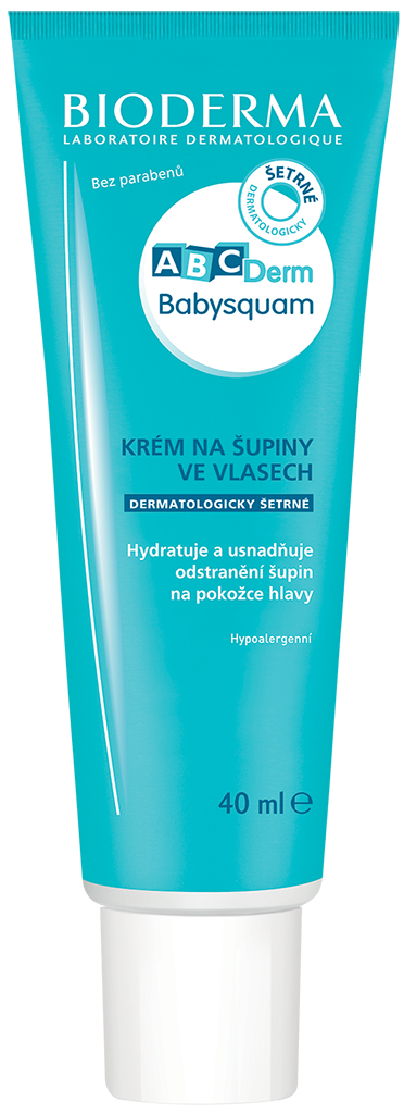 BIODERMA ABCDerm Baby Squam krém 40 ml