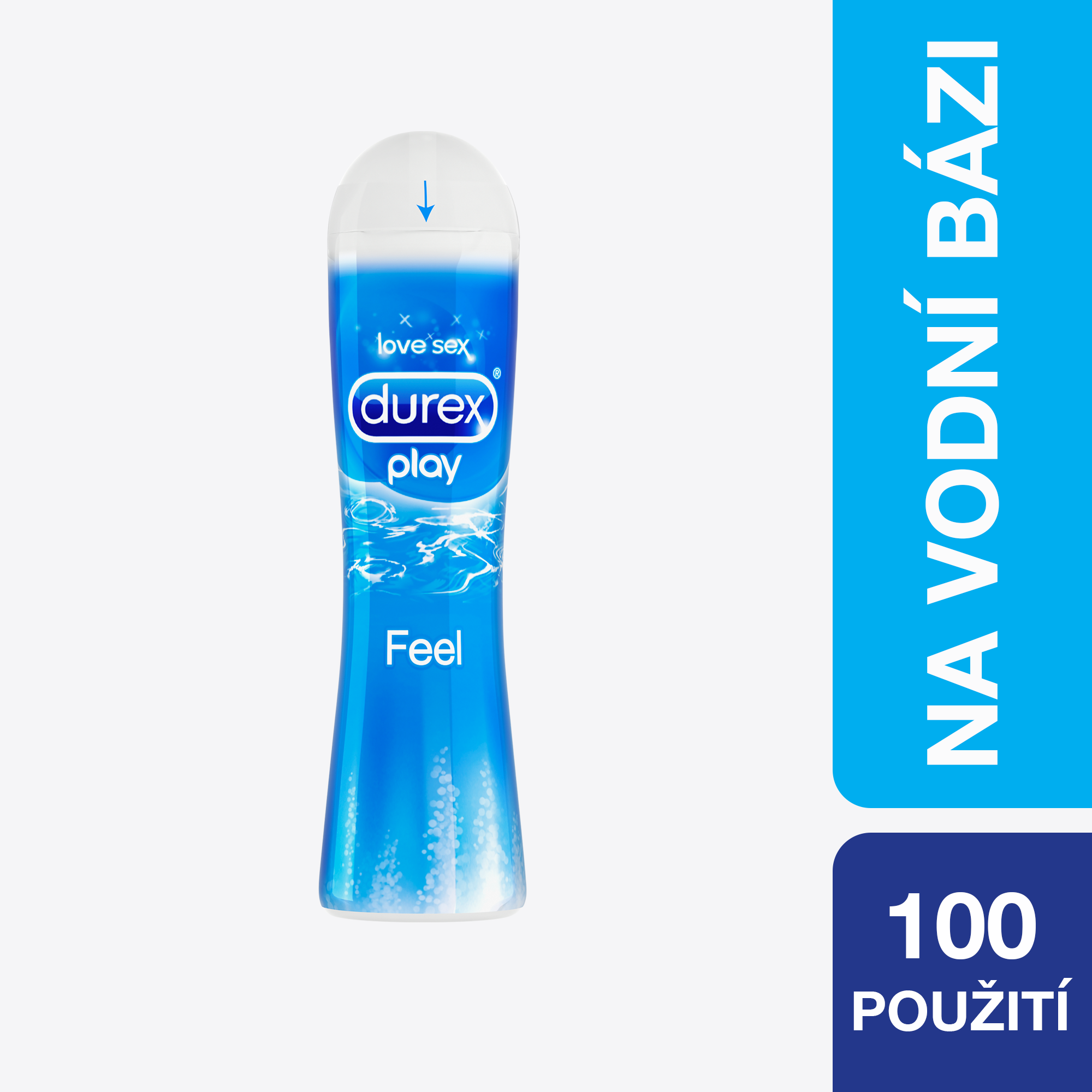 DUREX Play Feel 50 ml – lubrikační gel