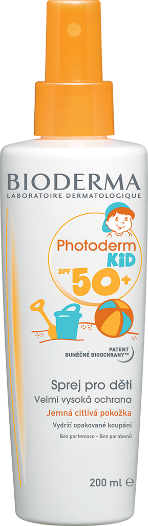 BIODERMA Photoderm Kid opalovací spray SPF 50 200 ml