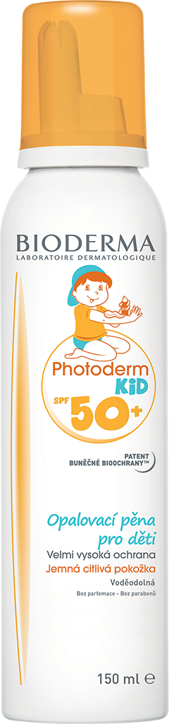 BIODERMA Photoderm kid opalovací pěna spf50 150 ml
