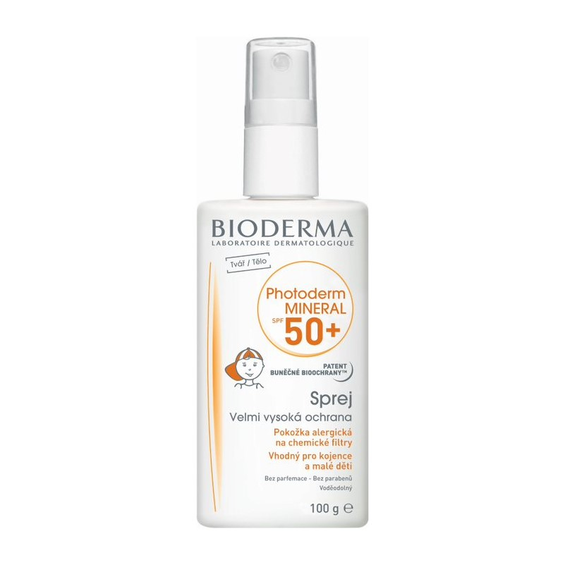 BIODERMA Photoderm Mineral SPF 50 spray 100 g
