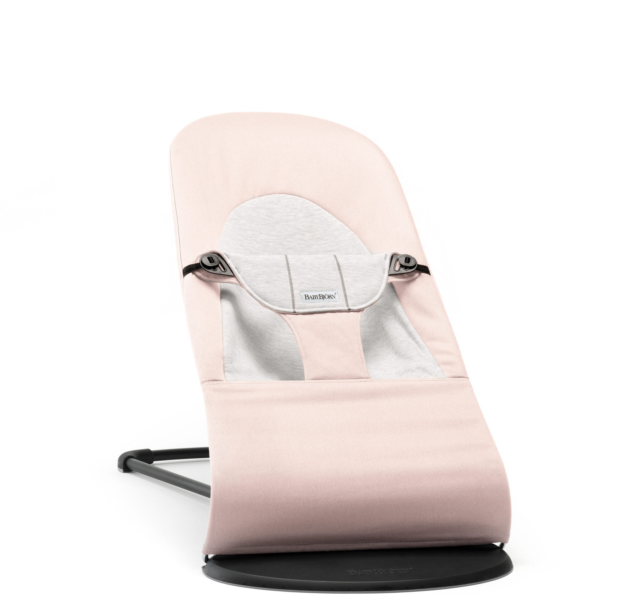 BABYBJÖRN Lehátko Bliss Light Pink/Grey, Cotton Jersey
