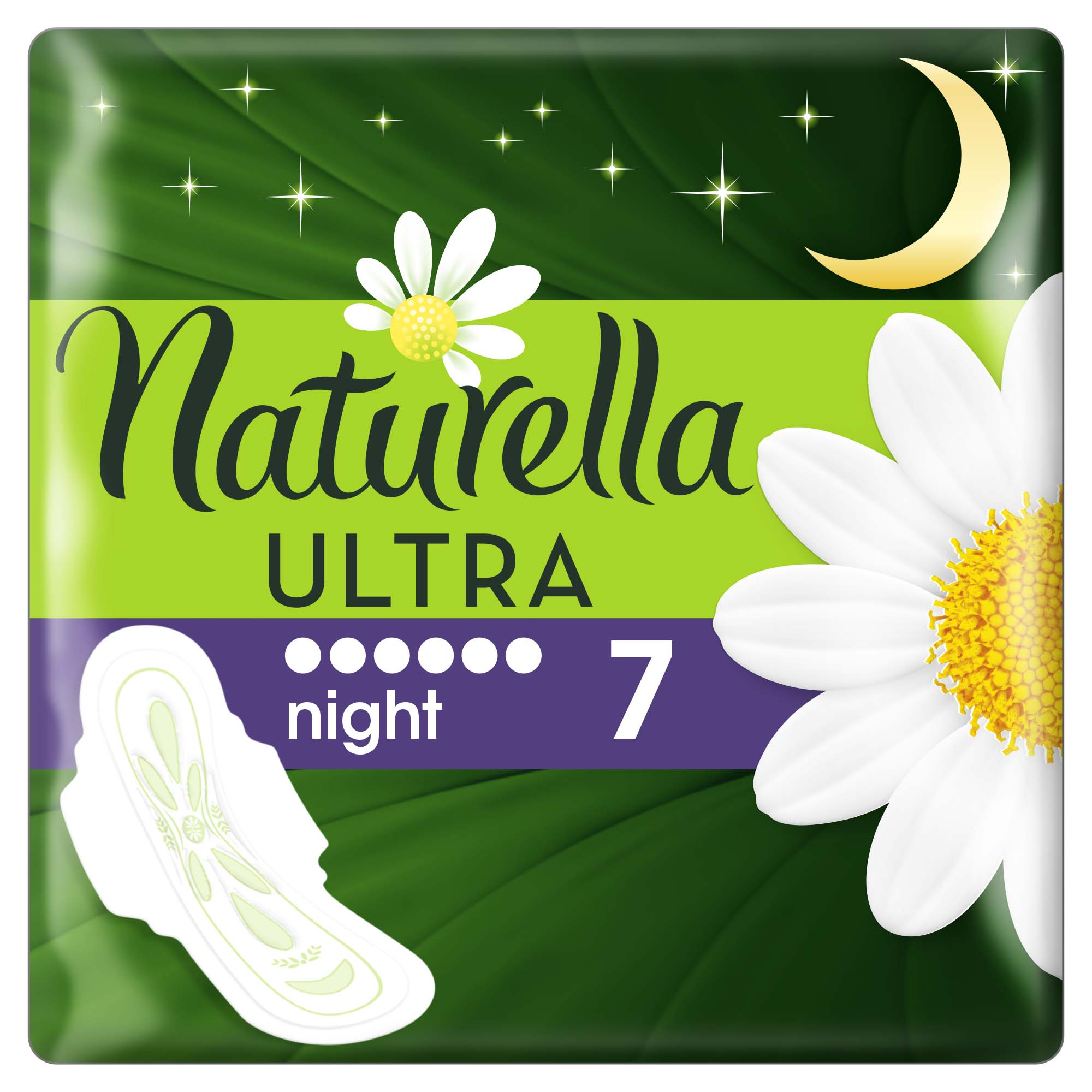 NATURELLA Ultra Night 7ks – vložky