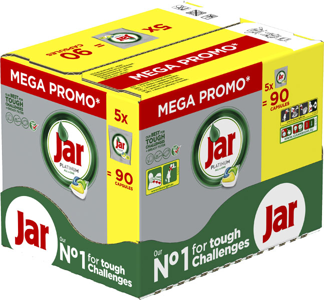 JAR Kapsle Platinum Yellow Box 5x18 ks