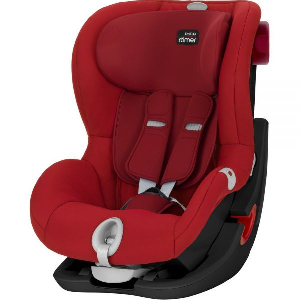 RÖMER Autosedačka KING II LS BLACK SERIES (9-18 kg), Flame Red 2017