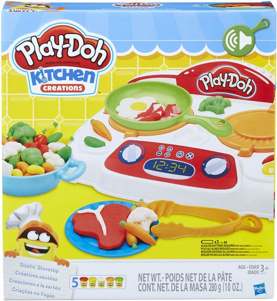 PLAY-DOH Kitchen creations Vařič smažič se zvuky