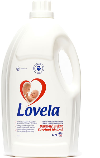 LOVELA Color 47 L (50 dávek) – prací gel