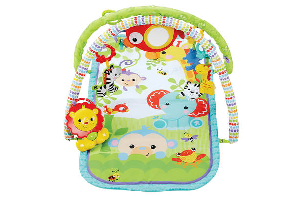 FISHER-PRICE Hrací dečka Rainforest friends