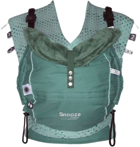 SNOOZE BABY Detské nosidlo Kiss & Carry, Forest Green
