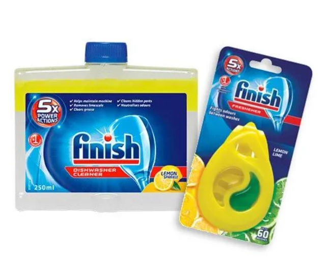 FINISH Čistič myčky Lemon 250 ml  DEO Lemon