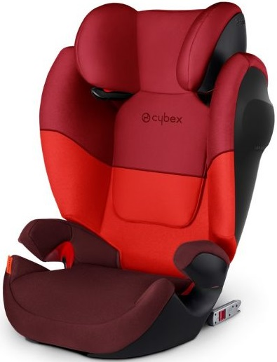 CYBEX Autosedačka Solution M-FIX SL (15-36 kg) Rumba Red 2019