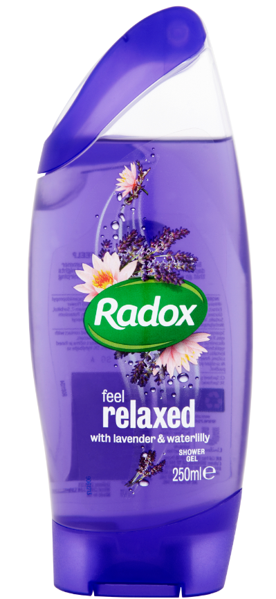 RADOX Feel relaxed lavender & waterlilly sprchový gel 250 ml