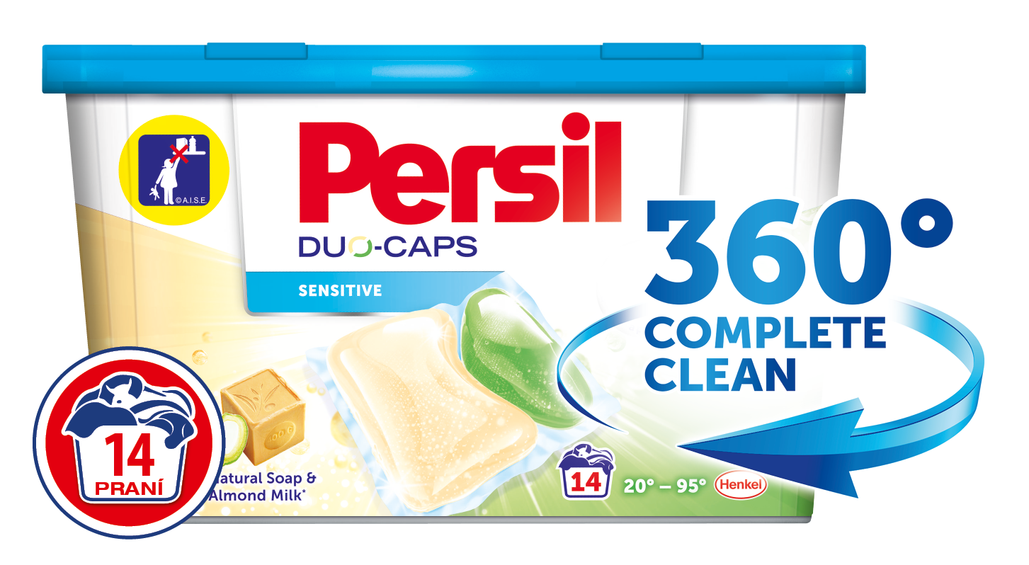 PERSIL Duo-Caps Sensitive (14 ks) - kapsle na praní
