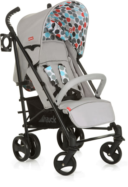 HAUCK Fisher Price Venice Kočík - Gumball grey
