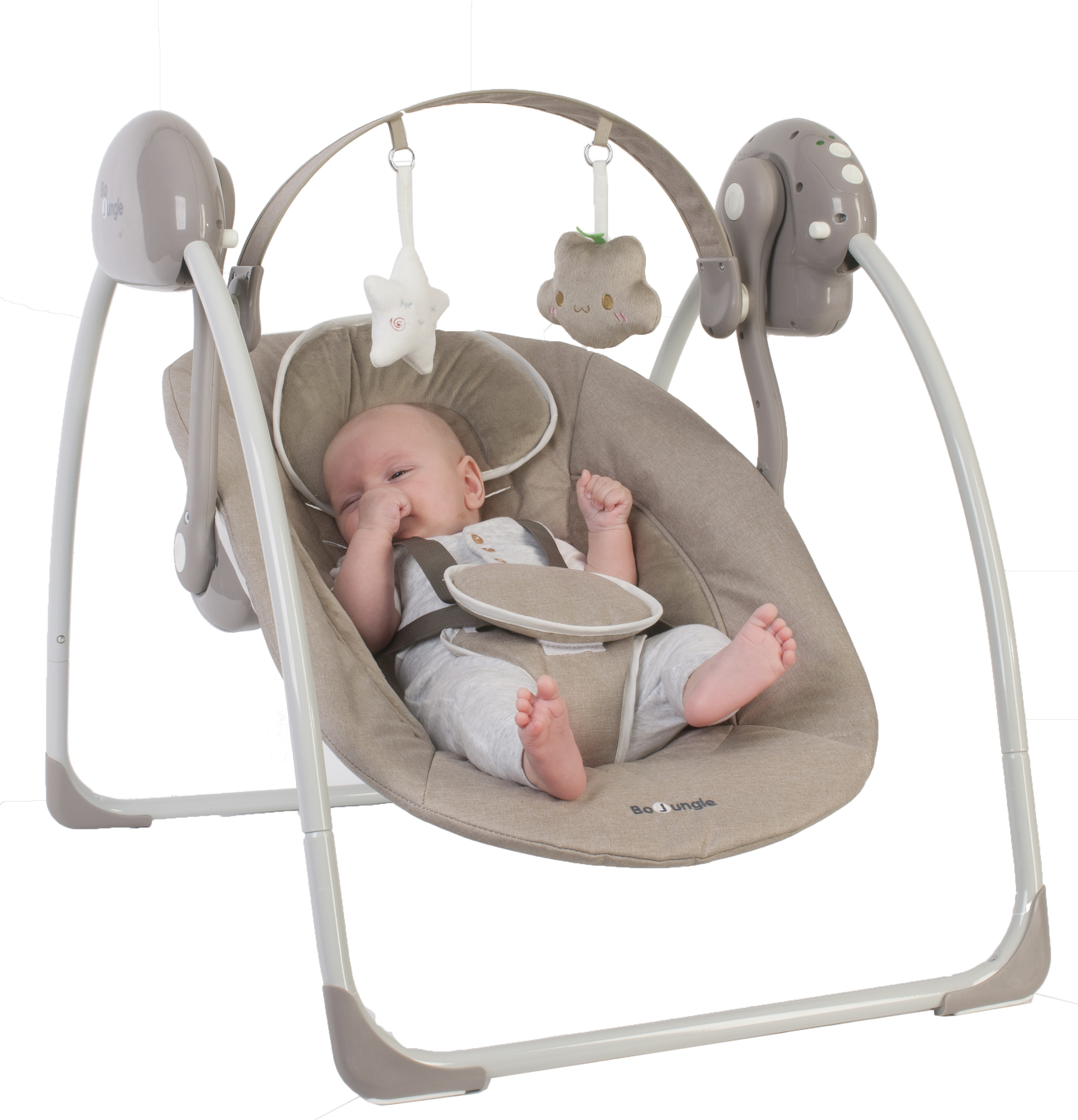 BO JUNGLE Houpátko B-Portable Swing Taupe
