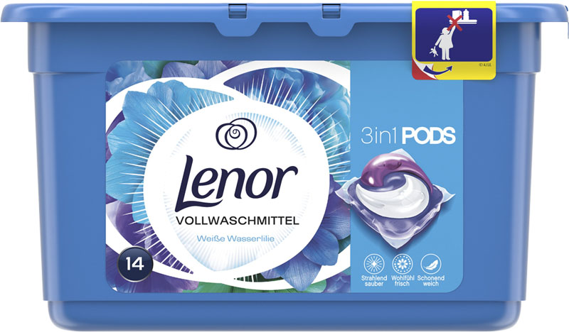 LENOR Waterlily 14 ks - tablety na praní