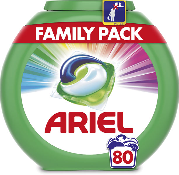 ARIEL Color All in 1 (80 ks) - tablety na pranie