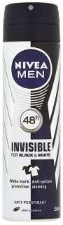 NIVEA MEN Spray Antiperspirant BlackWhite Power 150 ml