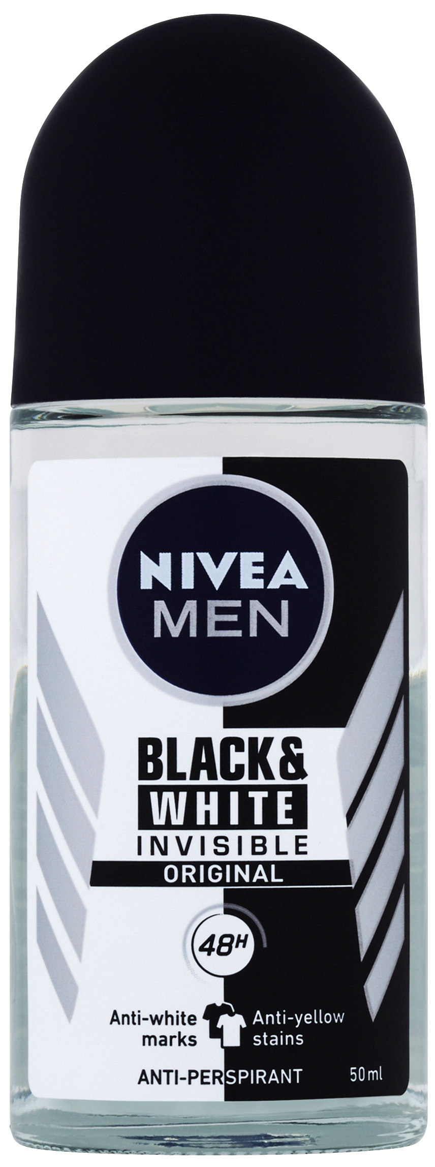 NIVEA MEN Kuličkový Antiperspirant Black&White Power 50 ml