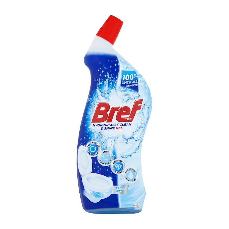 BREF Hygiene Gel Fresh 700 ml – Tekutý WC čistič