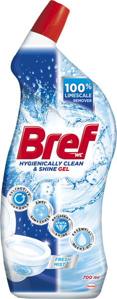 BREF Hygiene Gel Fresh 700 ml – WC gel na toaletu