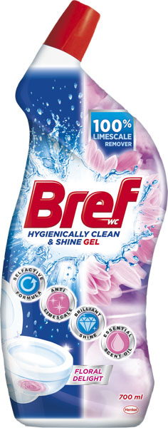 BREF Hygiene Gel Floral 700 ml – WC gel na toaletu