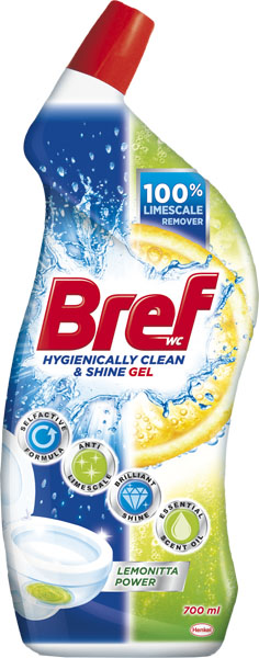 BREF Hygiene Gel Lemonitta 700 ml – WC gel na toaletu