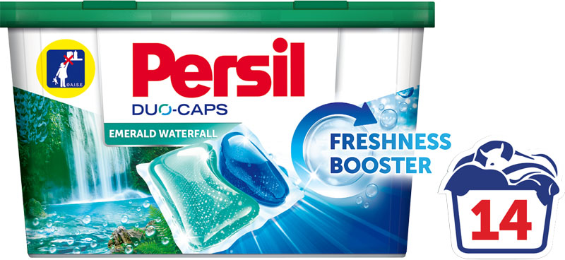 PERSIL DC Box Emerald Waterfall 14 ks – gelové kapsle