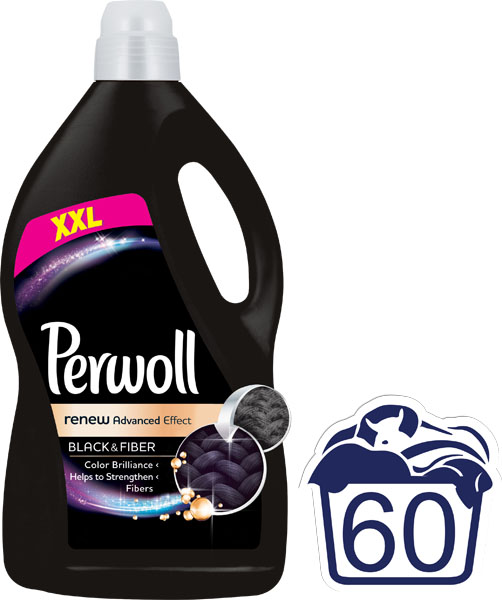 PERWOLL Renew Advanced Black 36 L (60 dávek) – prací gel