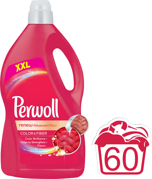 PERWOLL Renew Advanced Color 36 L (60 dávek) – prací gel