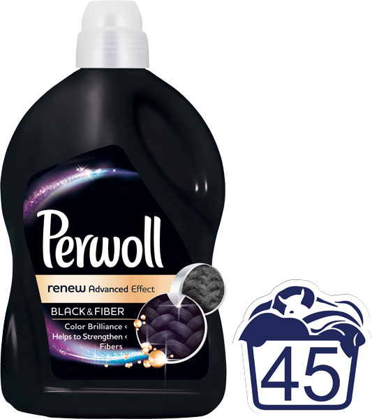 PERWOLL Renew Advanced Black 27 L (45 dávek) – prací gel