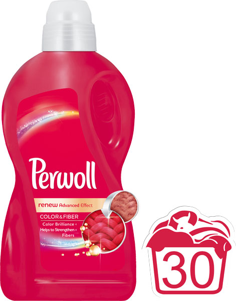 PERWOLL Renew Advanced Color 18 L (30 dávek) – prací gel