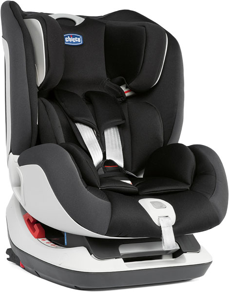 CHICCO Autosedačka Seat UP (0-25 kg) - Jet Black