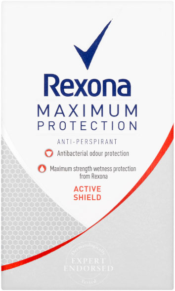REXONA Deo Stick MaxPro Active Shield Antiperspirant 45 ml